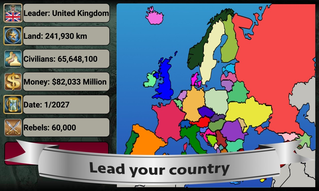 Europe Empire 2027 Mod APK Download