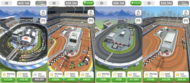 Idle Tap Racing Mod APK Download