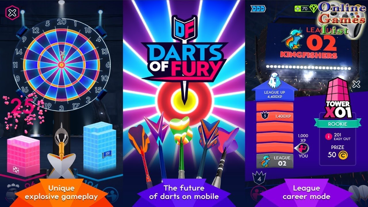 Darts of Fury Mod APK Download