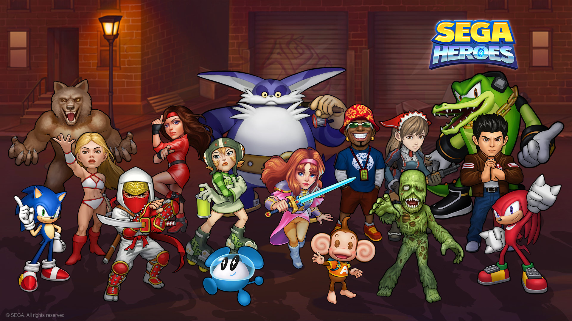 Sega Heroes Mod APK Download