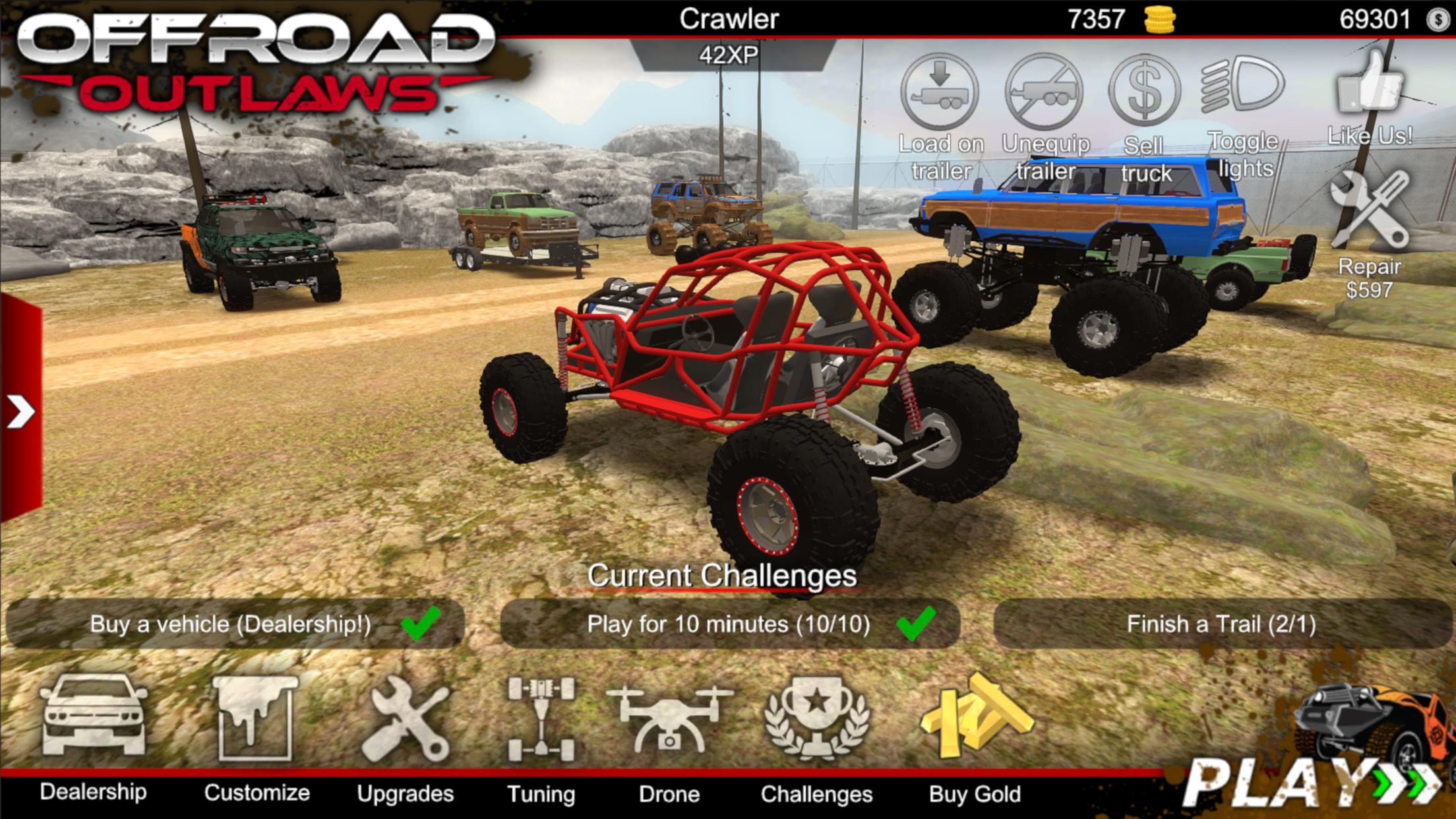 Offroad Outlaws Mod APK Download