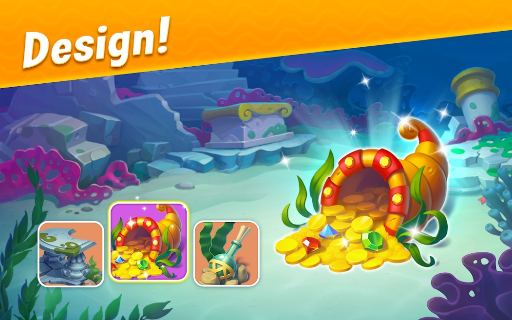 Download and Play Fishdom on PC