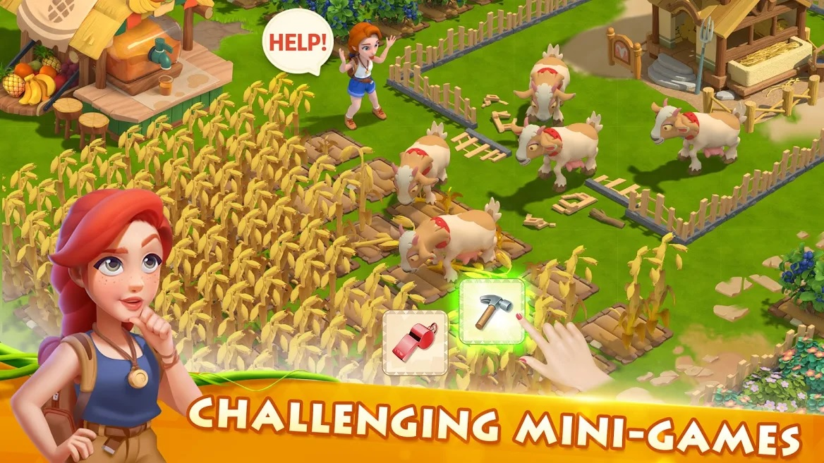 Download and Play Family Farm Adventure on PC