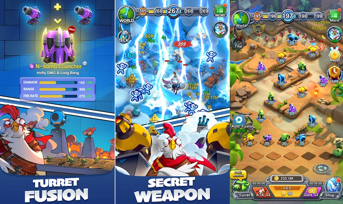 Download and Play Rooster Defense on PC