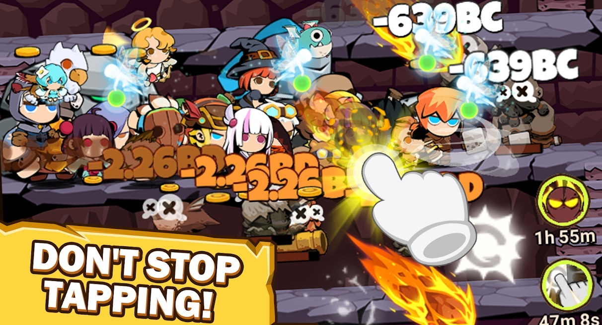 Download and Play Tap Dungeon Hero on PC